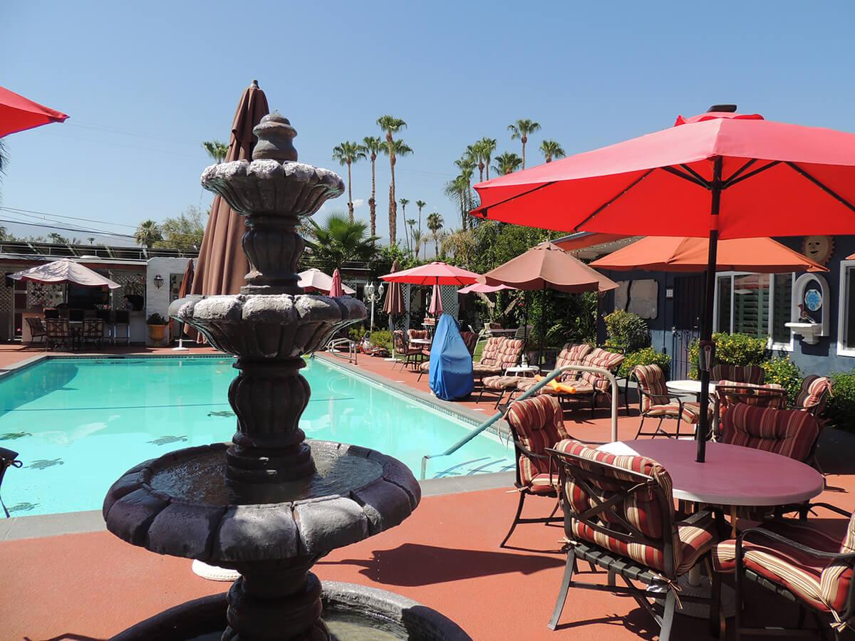 Casa Larrea Outdoor Pool and Fountain