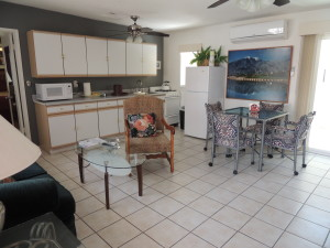 Interior View of Casa Larrea Inn, One Bedroom Master Suites, Palm Desert CA 92260
