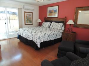 Interior view of Casa Larrea Inn, Deluxe Guest Room, Palm Desert CA 92260